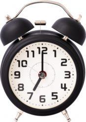 独立しても目覚まし時計は必要です