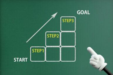 目標を達成したいのなら「積み上げ式」より「逆算式」でいこう